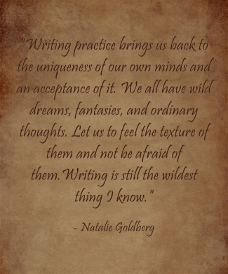 Writing-practice-brings Natalie Goldberg