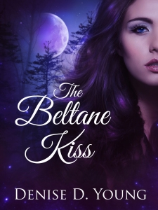 The Beltane Kiss fantasy romance book cover