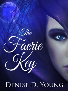 The Faerie Key fantasy romance book cover